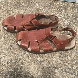 Genuine leather SPERRY sandals